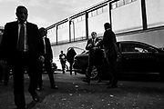 Silvio Berlusconi arriving at La7 Tv studios in Rome on 18 January 2018. Christian Mantuano / OneShot