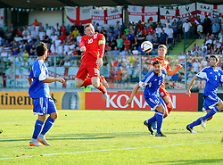 Wayne Rooney of England (Manchester United) heads towards goal  - Mandatory byline: Joe Meredith/JMP - 07966386802 - 05/09/2015 - FOOTBALL- INTERNATIONAL - San Marino Stadium - Serravalle - San Marino v England - UEFA EURO Qualifers Group Stage