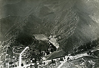 Aerial photo of the Hollywood Bowl