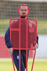 File photo dated 03-04-2017 of England manager Mark Sampson during the media day at St George's Park, Burton.