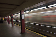 USA, NY, New York City, Manhattan, 79th street Subway station