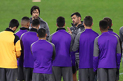 February 11, 2019 - Rome, Italy - FC Porto press conference and training - Champions League.Sergio Conceicao Manager of Porto talks with the team at Olimpico Stadium in Rome, Italy on February 11, 2019. (Credit Image: © Matteo Ciambelli/NurPhoto via ZUMA Press)