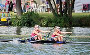 Henley Royal Regatta, Henley on Thames, Oxfordshire, 28 June - 2 July 2017.  Friday  09:22:46   30/06/2017  [Mandatory Credit/Intersport Images]<br /> <br /> Rowing, Henley Reach, Henley Royal Regatta.<br /> <br /> The Women's Double Sculls<br />  B.C. Donoghue & O.K. Loe (Waiariki Rowing Club, New Zealand)