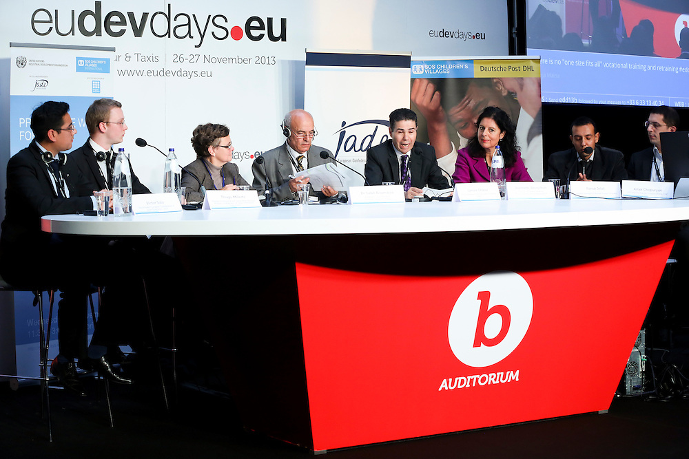 27 November 2013 - Belgium - Brussels - European Development Days - EDD - Productive work for youth © European Union
