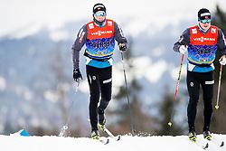 January 2, 2018 - Oberstdorf, GERMANY - 180102 Emil Iversen of Norwayand Sindre BjÂ¿rnestad Skar of Norway during a training session in Tour de Ski on January 2, 2018 in Oberstdorf..Photo: Jon Olav Nesvold / BILDBYRN / kod JE / 160116 (Credit Image: © Jon Olav Nesvold/Bildbyran via ZUMA Wire)