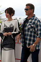 Paz Vega and Sylvester Stallone at Rambo V: Last Blood film photo call at the 72nd Cannes Film Festival, Friday 24th May 2019, Cannes, France. Photo credit: Doreen Kennedy