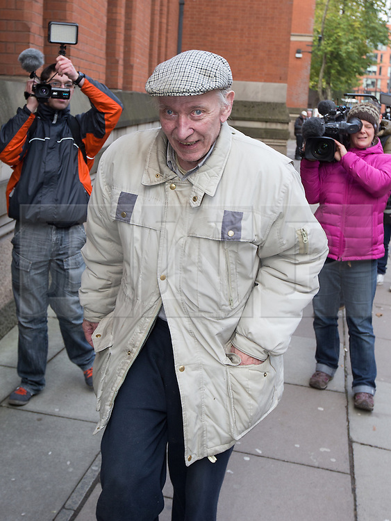 © Licensed to London News Pictures . 15/11/2013 . Manchester , UK . WILLIAM HARPER leaves Minshull Street Crown Court in Manchester today (15th November 2013) .  Ledger is charged alongside Ray Teret , Jimmy Savile 's former chauffeur and flatmate , and Alan Ledger . Photo credit : Joel Goodman/LNP
