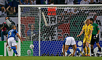 Photo: Glyn Thomas.<br />Italy v Ukraine. Quarter Finals, FIFA World Cup 2006. 30/06/2006.<br /> Italy's Luca Toni (third from R) scores his side's second goal.
