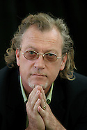 American journalist and writer Jon Lee Anderson is pictured at the Edinburgh International Book Festival prior to talking about his work in an event with Scottish crime writer Ian Rankin. The Edinburgh International Book Festival is the world's largest literary event, with over 500 authors from across the world participating each year and ran from 13-29 August. Edinburgh was named the world's first UNESCO City of Literature.