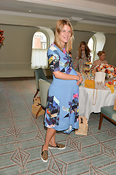 VIRGINIA CHADWYCK-HEALEY at a breakfast hosted by Halcyon Days at Fortnum & Mason, 181 Piccadilly, London on 8th July 2014.