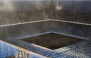 The 911 Memorial in New York City.