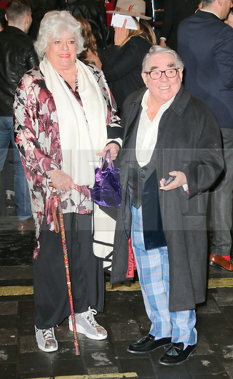 © Licensed to London News Pictures. 26/03/2014, UK. JJ Ronnie Corbett, I Can't Sing! The X Factor Musical - press night, London Palladium, London UK, 26 March 2014. Photo credit : Richard Goldschmidt/Piqtured/LNP