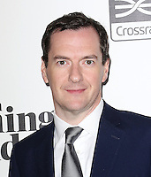 George Osborne, Chancellor of the Exchequer, The 2015 London Evening Standard Progress 1000, Crossrail Station Canary Wharf, London UK, 16 September 2015, Photo by Richard Goldschmidt