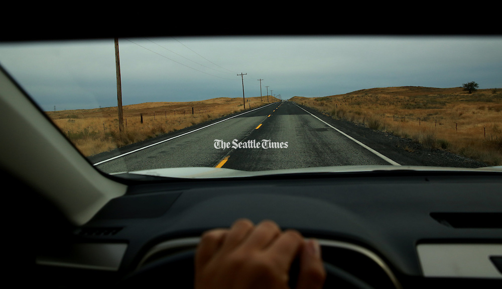 The open road has long been a place where people find comfort and contemplation. (Erika Schultz/The Seattle Times)