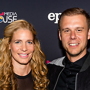 NLD/Amsterdam//20170518 - Première Mr. Probz - Against the Stream, Armin van Buuren en partner Erika van Thiel
