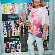 Connie Angel is a Psychics & Clairvoyants attends the Threads & Co Beauty launches permanent retail concept store everything from coffee to beauty to retail therapy on 24th May 2017. by See Li