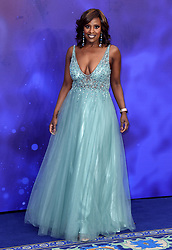 Kelle Bryan attending the Aladdin European Premiere held at the ODEON Luxe Leicester Square, London