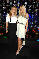 Left to right, SARAH BOSNICH and EMMA NOBLE at La Dolce Vita Christmas Ball in aid of DeBRa held at Battersea's Evolution, Battersea Park, London on 12th December 2007.<br /><br />NON EXCLUSIVE - WORLD RIGHTS