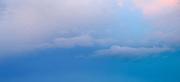 Nubes y atardecer, Panamá   Azul secreto.<br /> <br /> Panorámica de 2 fotografías.<br /> <br /> Edición de 10   Víctor Santamaría.