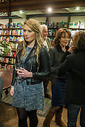HARRIET EGLETON, William Fitzgerald, Book launch ,  'How to read a Latin poem - if you can't read Latin yet' published by OUP.- Daunts bookshop Marylebone, London 21 February 2013.