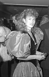 LADY (MIRANDA) NUTTALL at a dinner in London on 28th October 1982.
