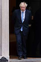 © Licensed to London News Pictures. 05/09/2019. London, UK. British Prime Minister Boris Johnson meets Israeli prime minister, Benjamin Netanyahu meets  at No.10 Downing St for a meeting. Photo credit: Ray Tang/LNP