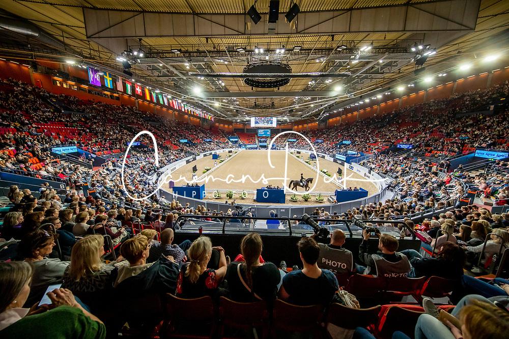 Overview Scandionavium arena<br /> LONGINES FEI World Cup™ Finals Gothenburg 2019<br /> © Hippo Foto - Dirk Caremans<br /> 06/04/2019
