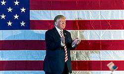 Oct.18, 2016 - Colorado Springs, Colorado, U.S. - DONALD TRUMP campaigns at the Norris Penrose Event Center. (Credit Image: © Brian Cahn via ZUMA Wire)