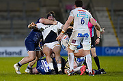 Exeter Chiefs prop Harry Williams is held in a maul during a Gallagher Premiership Round 11 Rugby Union match, Friday, Feb 26, 2021, in Eccles, United Kingdom. (Steve Flynn/Image of Sport)