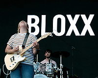 Bloxx live on stage at Victorious Festival 2021,photo by Dawn Fletcher-Park