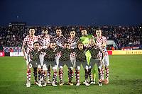 Osijek,23.03.2015. The stadium Municipal Garden played a friendly football match, Croatia - Israel<br /> Foto Mario CUZIC/Zagreb news agency