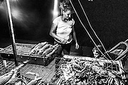 September 2015. Thessaloniki. Corn Seller mother  with her son on the seafront of Thessaloniki.
