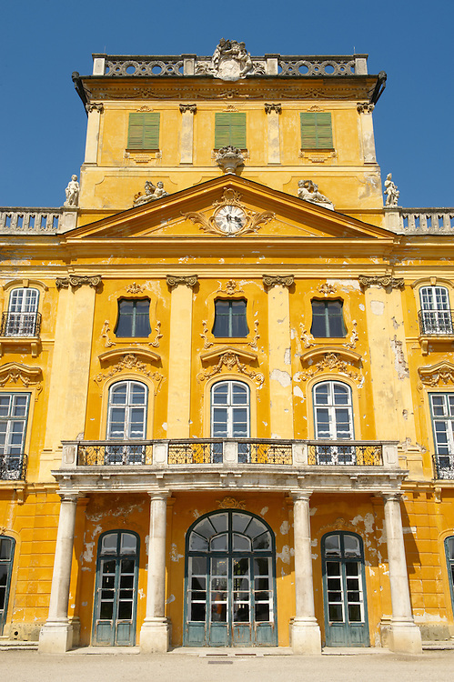 Picture of the Baroque Fertod Palace built in 1760's by Nikolaus Esterhazy, Hungary photos .<br /> <br /> Visit our HUNGARY HISTORIC PLACES PHOTO COLLECTIONS for more photos to download or buy as wall art prints https://funkystock.photoshelter.com/gallery-collection/Pictures-Images-of-Hungary-Photos-of-Hungarian-Historic-Landmark-Sites/C0000Te8AnPgxjRg<br /> <br /> Visit our EARLY MODERN ERA HISTORICAL PLACES PHOTO COLLECTIONS for more photos to buy as wall art prints https://funkystock.photoshelter.com/gallery-collection/Modern-Era-Historic-Places-Art-Artefact-Antiquities-Picture-Images-of/C00002pOjgcLacqI