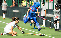 BRUXELLES (Belgium) -  Nuraini RASHID (Mal.)     during Hockey World League women (semi final competition)  SPAIN v MALAYSIA .  COPYRIGHT KOEN SUYK