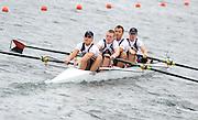 Eton. Great Britain. USA JM4+. Mompeting at the Eton Rowing Centre 2011 FISA Junior  World Rowing Championships. Dorney Lake, Nr Windsor. Thursday, 04/08/2011  [Mandatory credit: Peter Spurrier Intersport Images]