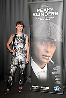 Helen McCrory  at the Gala Screening of 'Peaky Blinders' at the BFI South Bank, London - August 21st 2013, Photo by Brian jordan /Retna Pictures