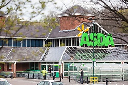 © Licensed to London News Pictures. 27/03/2019. Leeds, UK.Killingbeck ASDA shop on York road in Leeds this morning where it is believed a man walked in the shop & stabbed himself, Police where called to the shop at 5:57am this morning where a man was found with serious injuries & was taken to hospital. Police have said they are satisfied this has been a self-harm incident with no other person involved & there are no suspicious circumstances. Photo credit: Andrew McCaren/LNP