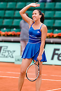 Paris, France. May 28th 2009. .Roland Garros - Tennis French Open. 2nd Round..Serbian player Jelena Jankovic against Magdalena Rybarikova..