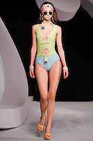 Morgane Dubled walks the runway  at the Christian Dior Cruise Collection 2008 Fashion Show