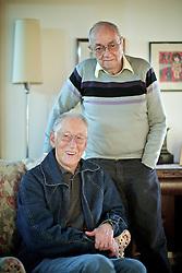 Glênio Reis e Jayme Copstein durante entrevista. FOTO: Jefferson Bernardes/Preview.com