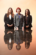 SHOT 12/4/19 11:31:56 AM - McGuane & Hogan, P.C., a Colorado family law firm located in Denver, Co. Includes attorneys Kathleen Ann Hogan, Halleh T. Omidi and Katie P. Ahles. (Photo by Marc Piscotty / © 2019)
