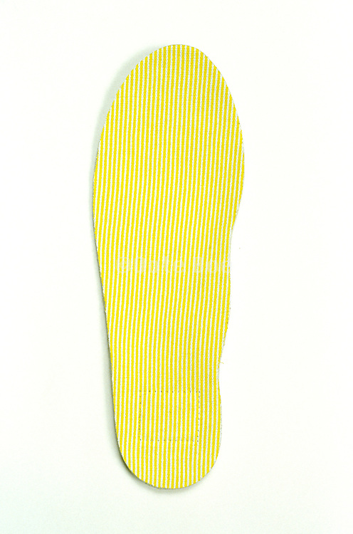 still life of yellow insole