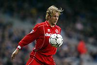 Fotball, 30. november 2003, Premier League, Manchester City - Middlesbrough 0-1,  Gaizka Mendieta, Middlesbrough
