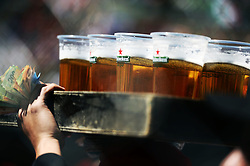 Heineken sold to the fans in the grandstand.<br /> 29.10.2016. Formula 1 World Championship, Rd 19, Mexican Grand Prix, Mexico City, Mexico, Qualifying Day.<br />  Copyright: Price / XPB Images / action press