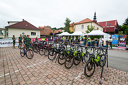 The bicycles prior to 1st Stage of 25th Tour de Slovenie 2018 cycling race between Lendava and Murska Sobota (159 km), on June 13, 2018 in  Slovenia. Photo by Matic Klansek Velej / Sportida