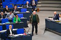 DEU, Deutschland, Germany, Berlin, 21.11.2018: Die Vorsitzenden der AfD-Bundestagsfraktion, Alice Weidel und Alexander Gauland, während einer Plenarsitzung im Deutschen Bundestag.
