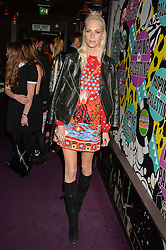POPPY DELEVINGNE at Hoping's Greatest Hits - the 10th Anniversary of The Hoping Foundation's charity benefit held at Ronnie Scott's, 47 Frith Street, Soho, London on 16th June 2016.