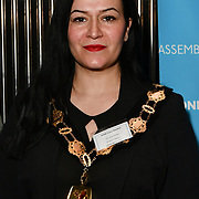 Cllr Saray Karakus attend Awareness gala hosted by the Health Committee with live music and poetry performances at City Hall at The Queen's Walk, London, UK. 18 March 2019.