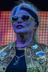 """NEWPORT BEACH, California/USA (Saturday, September 15, 2012) -  Legendary lead singer Deborah Harry and co-founder  of inductee  Rock and Roll Hall of Fame  Blondie rocked her fans with some of their mega hits like """"call me"""", """"heart of glass"""", """"one way or another"""" among others of the latest album """"Panic of Girls"""" during Blondie's solid performance at the 2012 Taste of Newport in Newport Beach, CA.  Blondie and Devo are co-headlining """"Whip It To Shreds"""" 13 select cities U.S. tour. Byline and/or web usage link must read PHOTO © Eduardo E. Silva/SILVEX.PHOTOSHELTER.COM."""