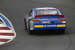 September 27, 2018 - Concord, North Carolina, United States of America - Christopher Bell (20) races through the turns during practice for the Drive for the Cure 200 at Charlotte Motor Speedway in Concord, North Carolina. (Credit Image: © Chris Owens Asp Inc/ASP via ZUMA Wire)